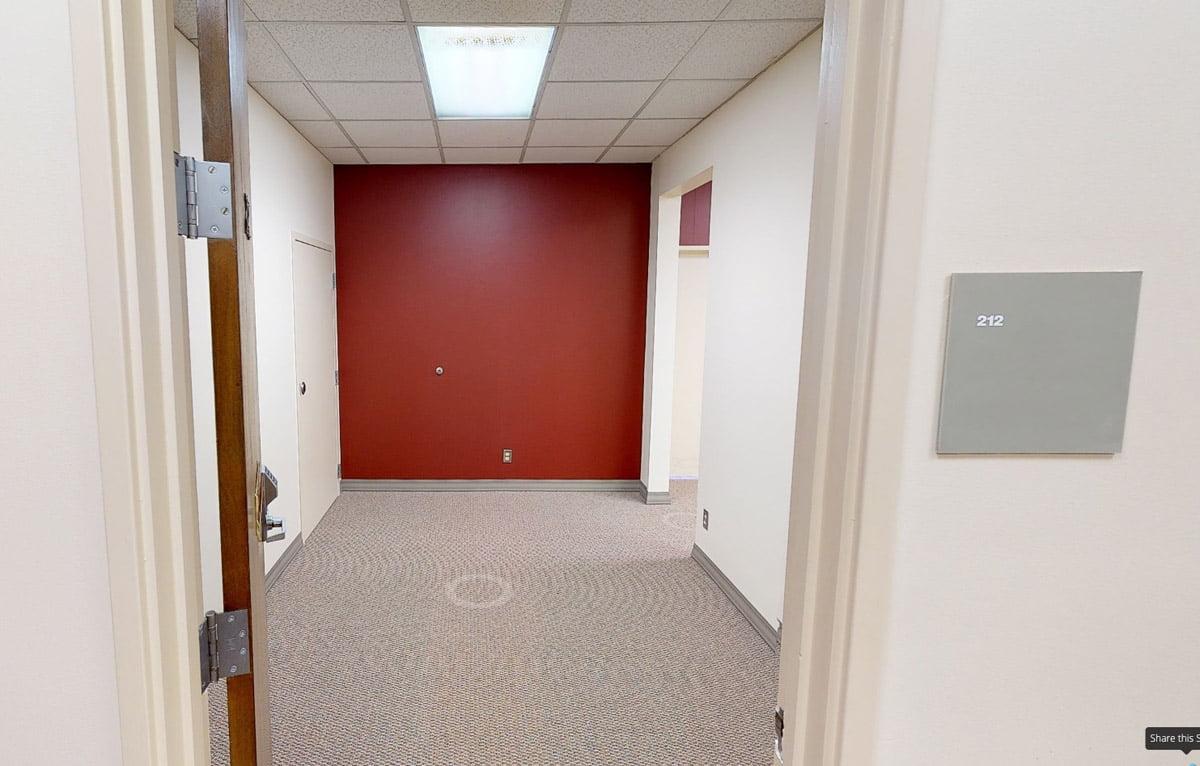 325 F Street - Reception area